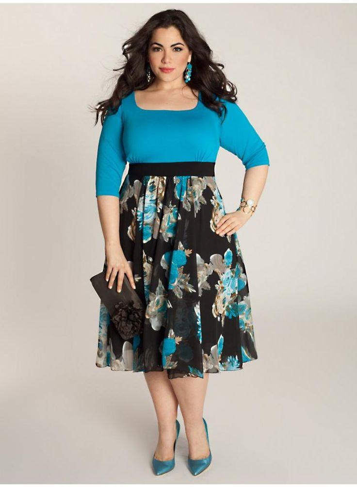 Plus Model: Nicole Zepeda,   Agency: MSA Models in NY & LA     Ivy Dress. IGIGI by Yuliya Raquel. www.igigi.com