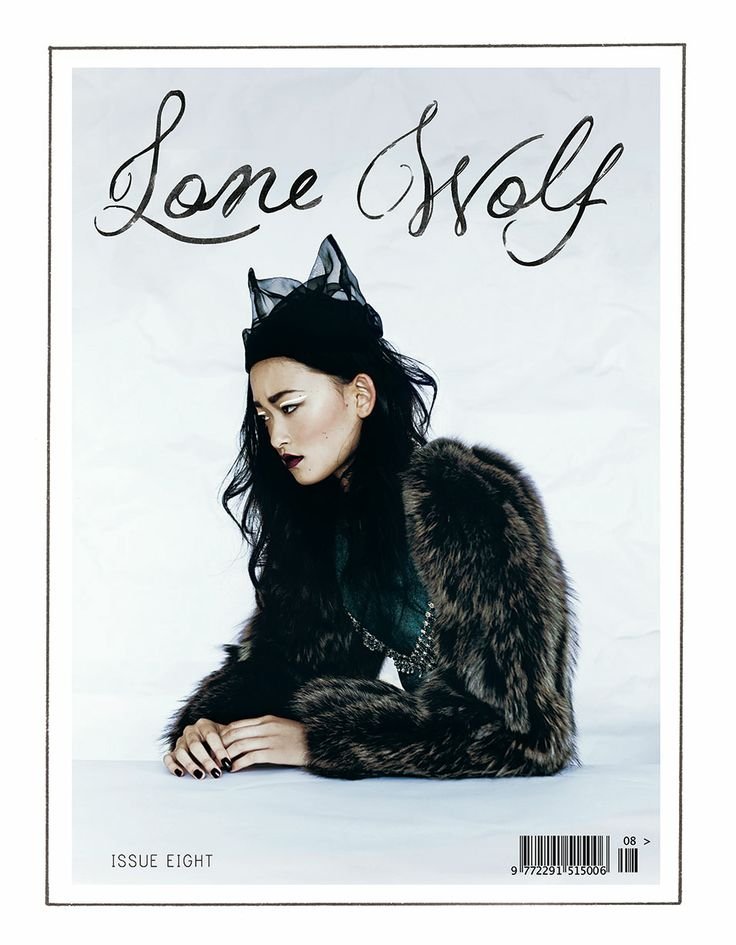Lone Wolf Magazine (issue 8) cover shot by Jane & Jane