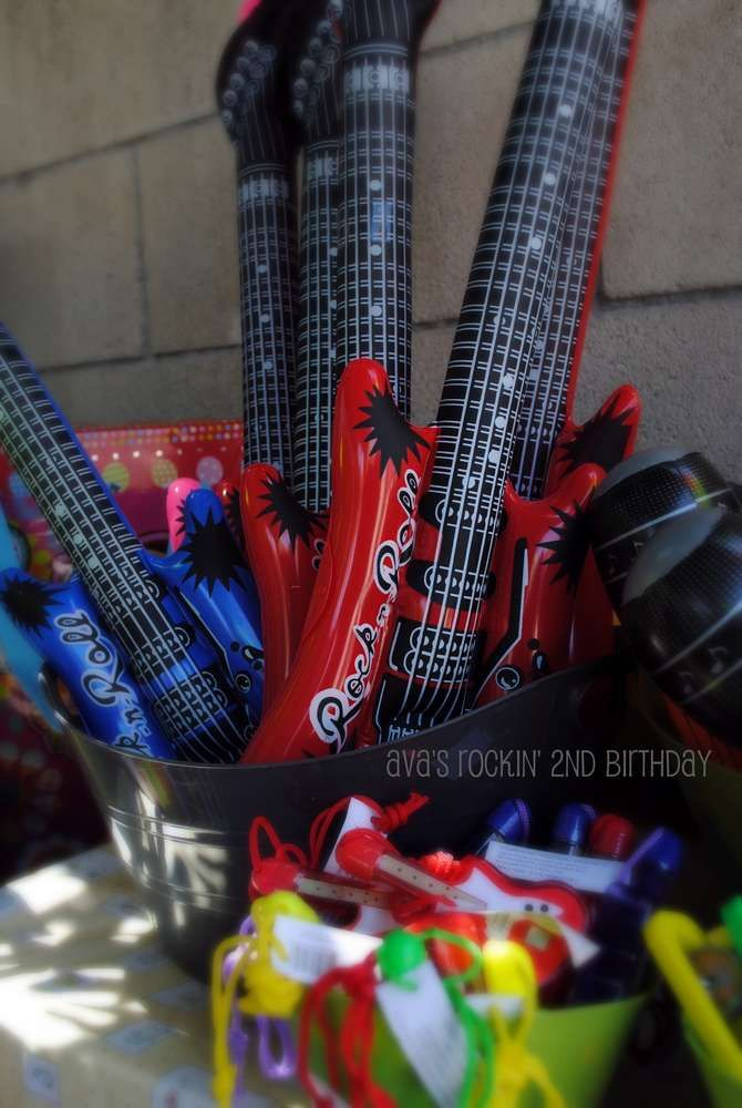 Music Birthday Party Ideas | Photo 1 of 19 | Catch My Party