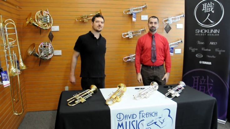 Yamaha Xeno Artist Series Trumpet Demo from David French…