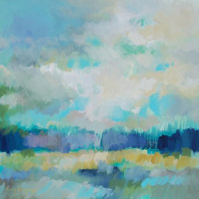 landscape paintings - paintings by erin fitzhugh gregory