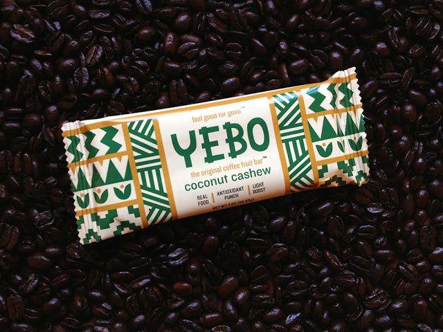 YEBO (barres énergétiques à base de fruits du caféier)   Design : Alexander Vidal, Los Angeles, Etats-Unis (octobre 2015)