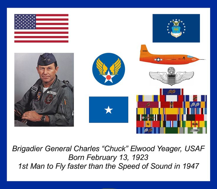 The military life and heroism of general charles e chuck yeager