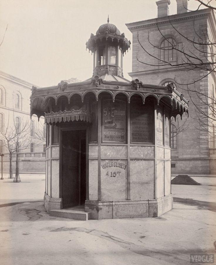 Chalet de nécessité Marché de la cité 1865