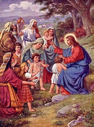 Πιάστε τα παιδιά σας από το χέρι και οδηγήστε τα στην αγκαλιά του Χριστού.