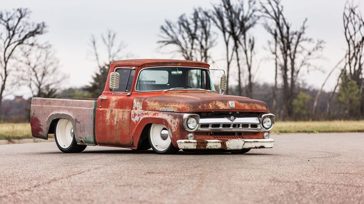 1957 Ford Custom Pickup presented as Lot F233 at Kissimmee, FL