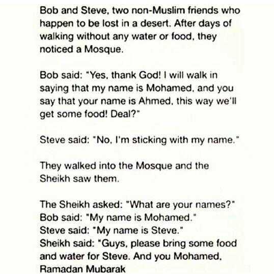 Hahaha Muslim humor