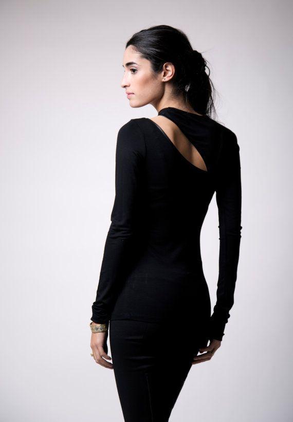 Party Top / Women's Blouse / Long Sleeve Top / von marcellamoda