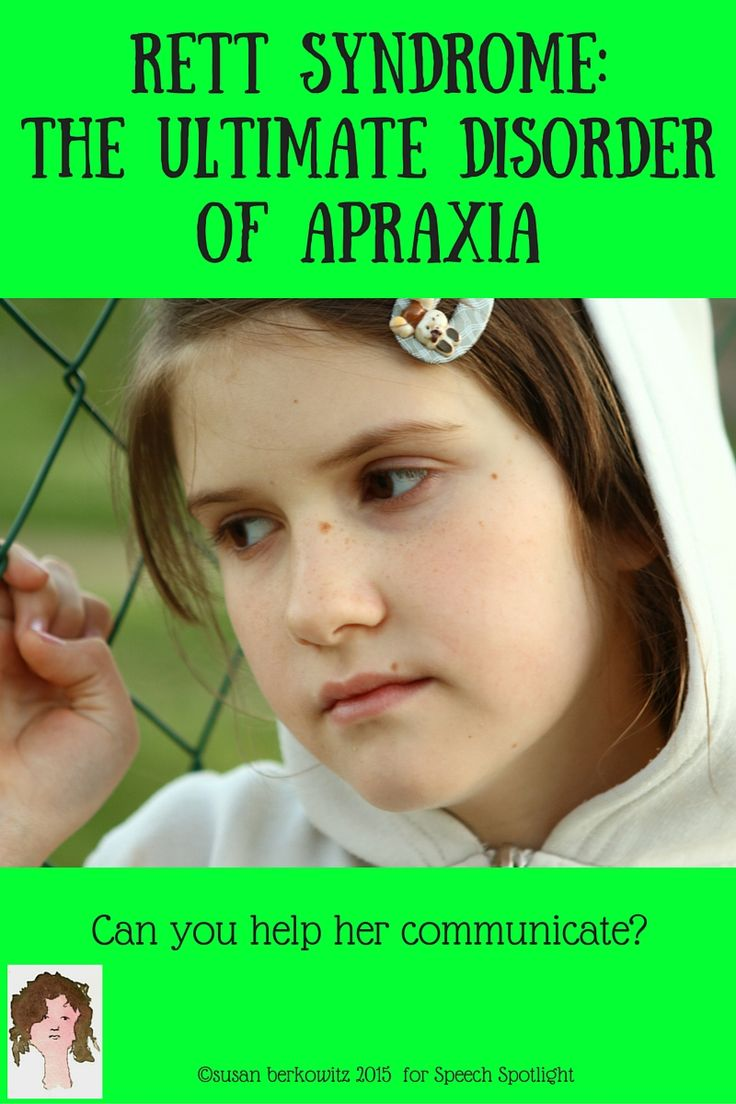 rett syndrome_the ultimate disorder of apraxia_Pin