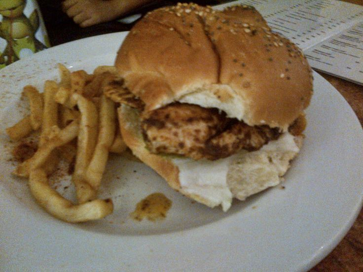 Tikka Chicken Burger | La Rocca, Canal Walk, Cape Town