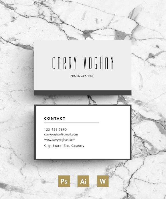 Creative Business Card template by Emily's ART Boutique on @creativemarket