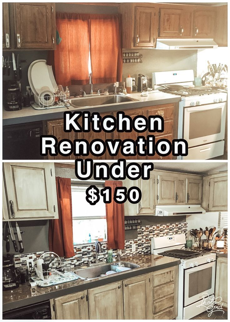 Ballin On A Budget Kitchen Renovation Cheap Kitchen Remodel