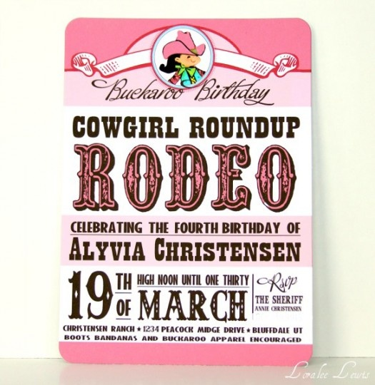 Cowgirl... baby shower?
