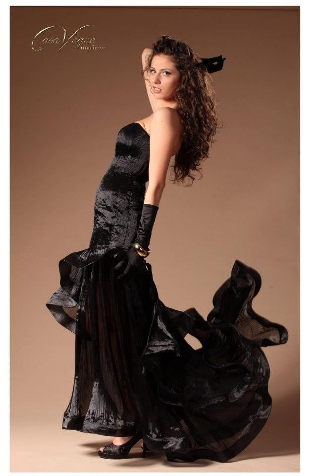 Rochie de ocazie by Casa Vogue Mariage http://www.casavoguemariage.ro