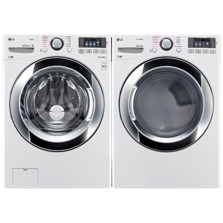 kenmore elite washer and dryer white. dryer w/steam \u0026 white - appliances washer and sets bundles kenmore elite