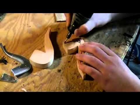How to make a Wood Pipe. I want every tool in this video!!!