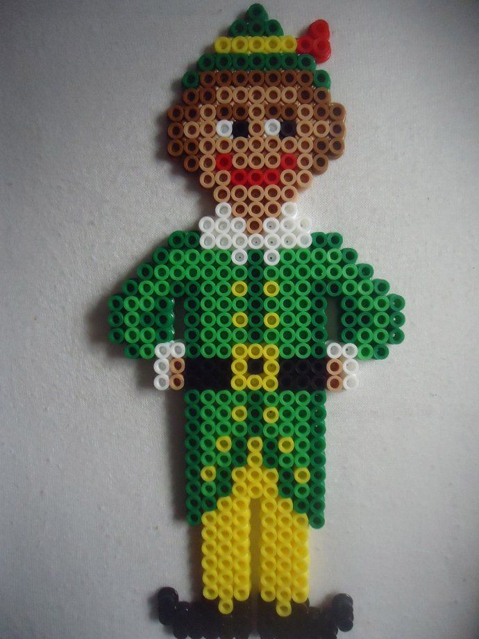 Christmas Buddy The Elf perler beads by PerlerHime