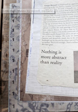 Textured pages and page edges. 'One' by Victoria Alexander.