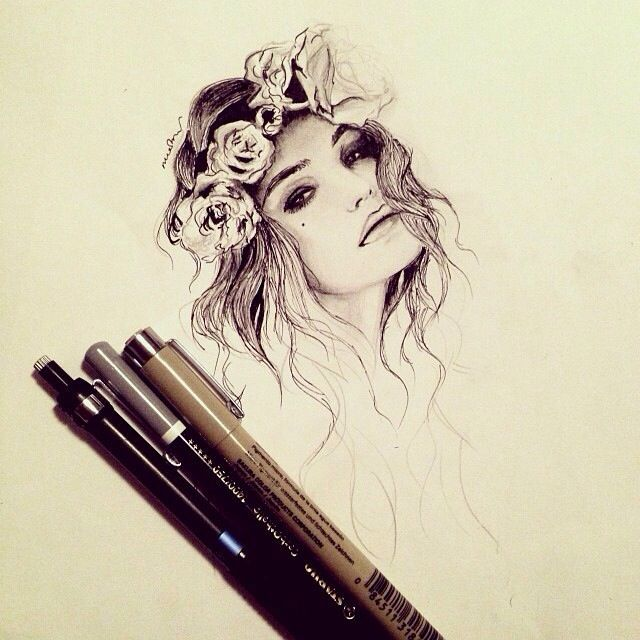 Naked Of Hot Girls Drawing Illustrations, Royalty-Free