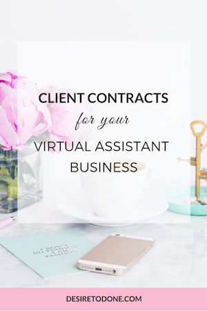 Doing this important step before working with a client will save you lots of time, reduce stress, and make you look like the professional virtual assistant that you are!