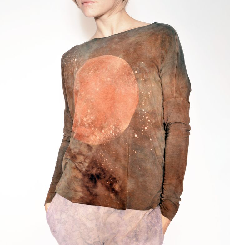 hand dyed unique longsleeve by goshko