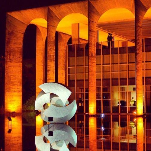 Palácio Itamaraty - Brasília, Distrito Federal, Brasil: Color