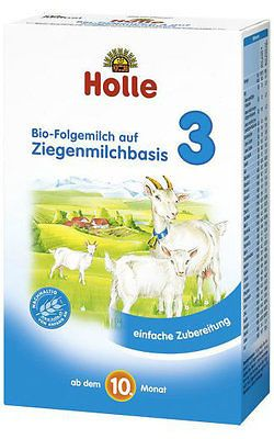 baby and kid stuff: Holle Organic Goat Milk Baby Formula - Stage3 - 3 Pack - Free Shipping -> BUY IT NOW ONLY: $95.99 on eBay!
