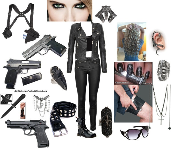 """""""Inspired by Anita Blake"""" by chaynes on Polyvore"""