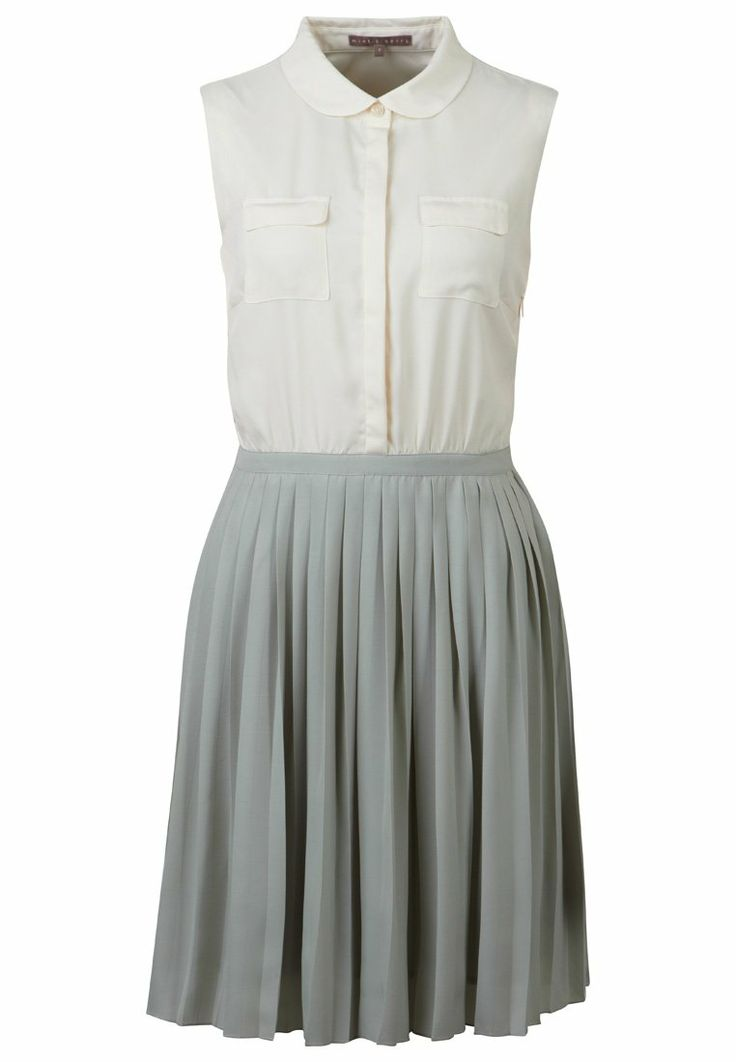 mint - Blusenkleid - insipid white/dull mint