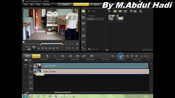 How To Make a Twins Guy in Corel VideoStudio Pro X6 (Mask Frame)