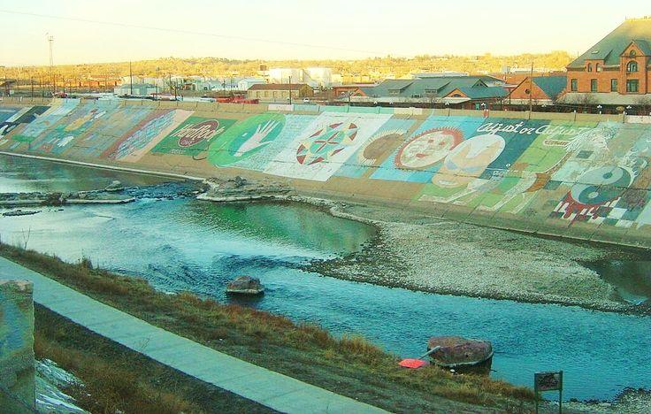 8 best images about pueblo colorado on pinterest pueblo for Art miles mural project