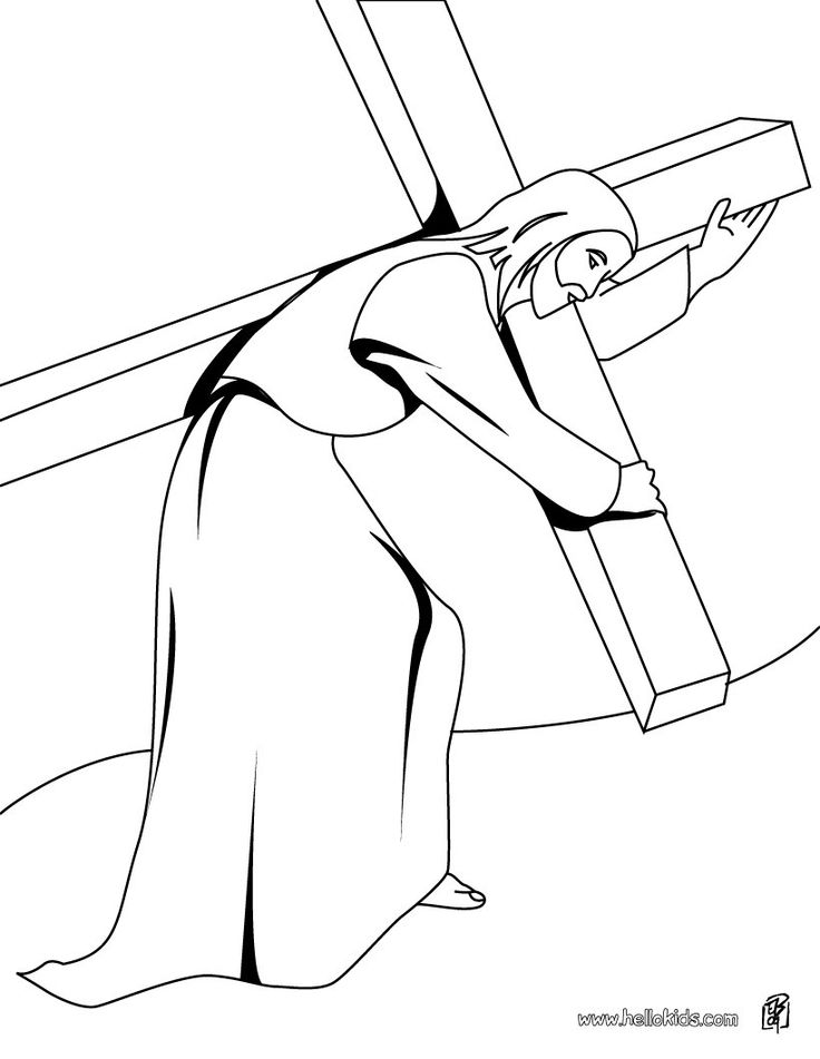 Various Christmas And Easter Coloring Pages Also Feature Jesus Christ Incidents From His Life