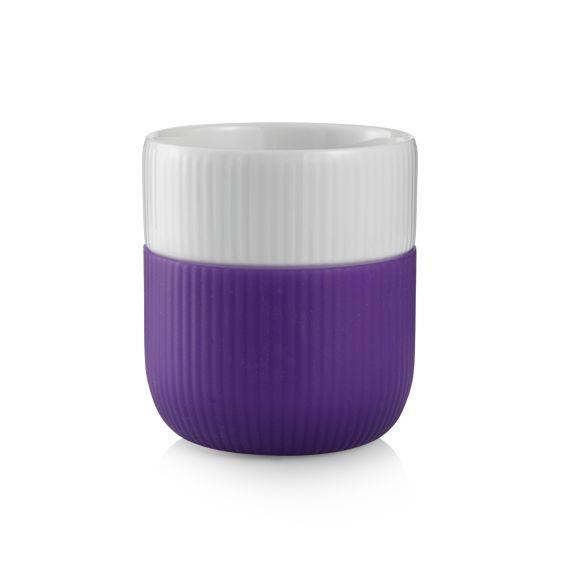 Royal Copenhagen riflet kontrast - Lavendel, blomme, opal, latte, hindbær, lyng, petroleum. 149 pr. stk.