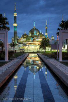 Crystal Mosque - Islamic Heritage Park, Malaysia