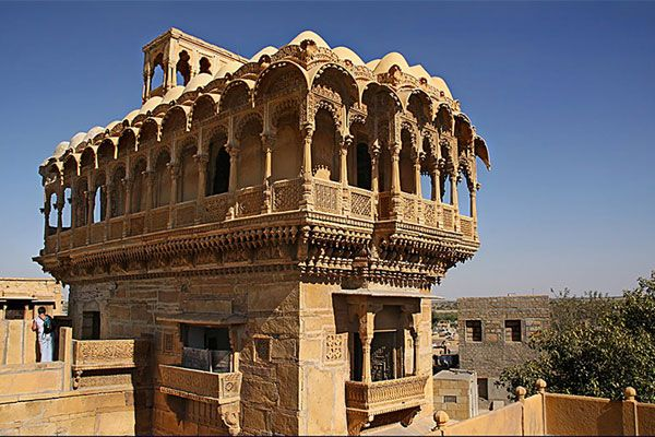 -Havelis Of Jaisalmer:  The impressive mansions built by the wealthy merchants of Jaisalmer are known as havelis,. The famous among many of them that you must visit are-  -Salim Singh-Ki-Haveli  -Patwon-Ki-Havel  -Nathmalji-Ki-Haveli