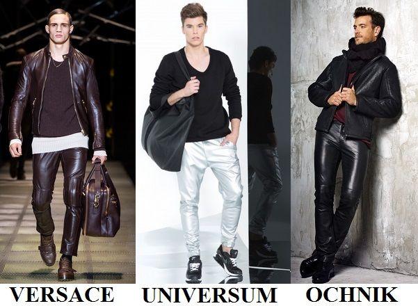 Męskie skórzane spodnie zazwyczaj kojarzą się z wielbicielami sportów motorowych i gwiazdami rocka. Ten niezwykle drapieżny trend może wyglądać naprawdę stylowo. Wystarczy właściwie dobrać pozostałe elementy outfitu. http://szkolameskiegostylu.pl/blog/2015/09/lekcja-stylu-dla-panow-jak-nosic-skorzane-spodnie/