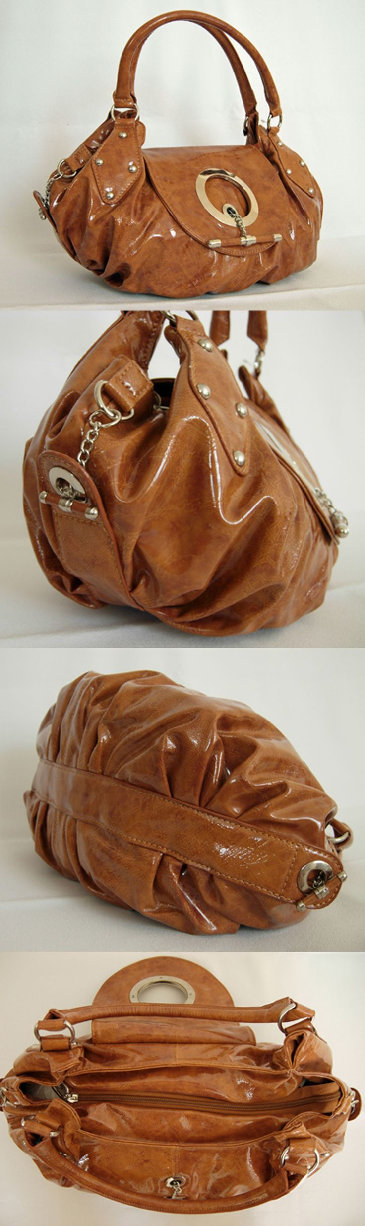 Mixed Items and Lots 15738: New Gorgeous Mocha Brown Handbag Bag Purse (V22) -> BUY IT NOW ONLY: $76 on eBay!