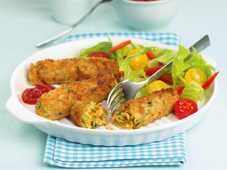 Delicious vegetarian sausages that are quick and easy recipe to prepare. If you have time you can form the mixture into sausage shapes and then set aside in the fridge to firm up before cooking.