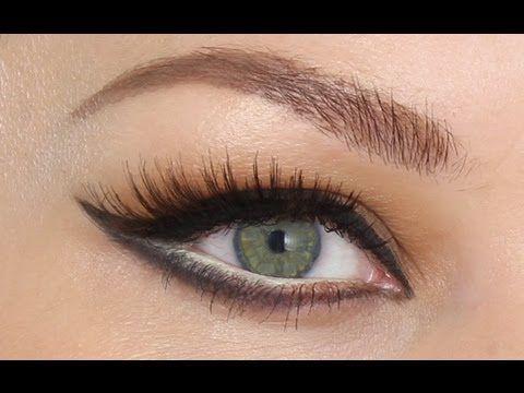 Sophia Loren 'Ultra Vixen' Make-up Tutorial. How to create beautiful elongated cat eyes.