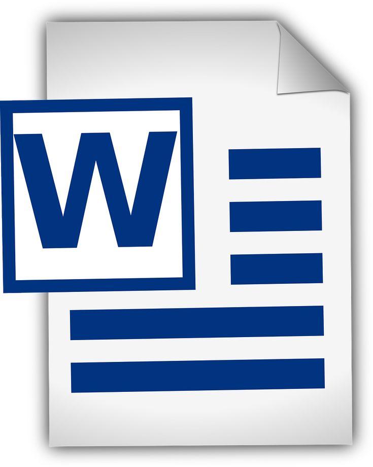 Word Document Document Text transparent image
