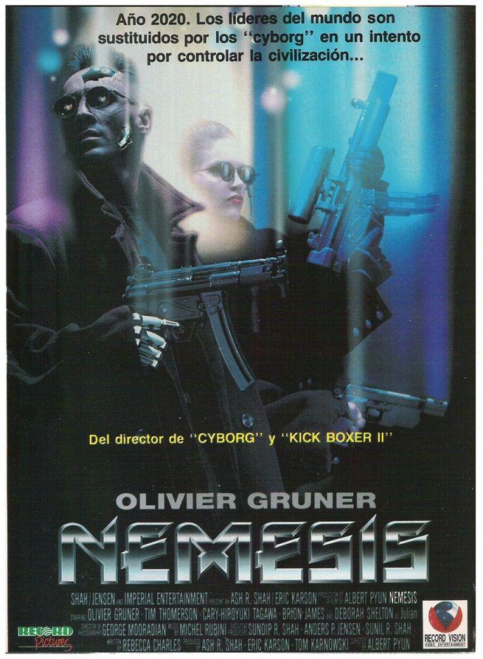 Nemesis 1992 Tt0107668 Movie Posters Movies Poster