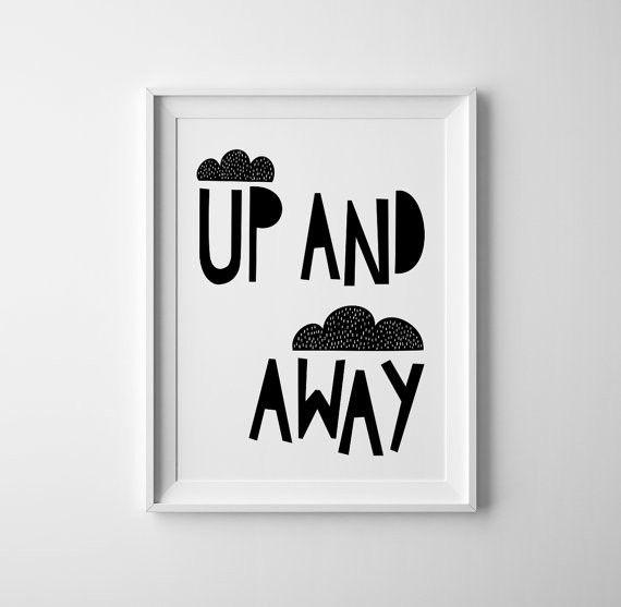 Up & Away - Black