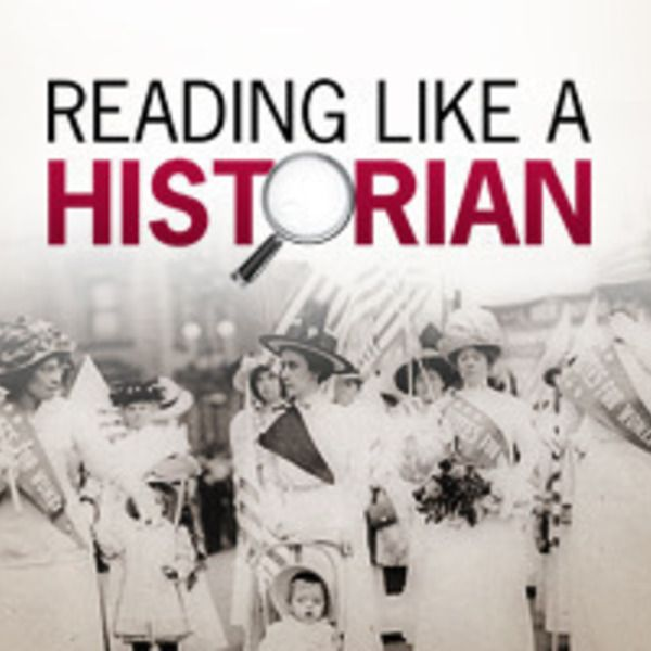 reading like a historian 2015-11-23  teachingchannelcom has a series of videos going in depth   reisman, a (2012) reading like a historian: a document-based history curriculum.