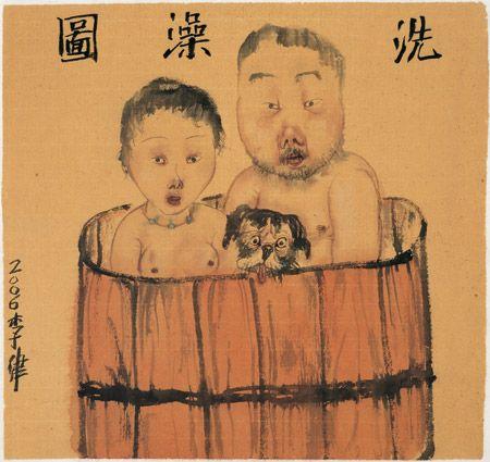 Li Jin - Art Scene Warehouse. Li Jin Paintings  http://www.artscenewarehouse.com/li-jin.html#