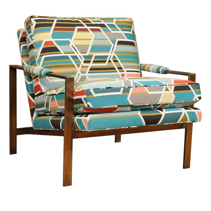 Milo Baughman Club Chair: Usa 1970S, Dreams Chairs, Design Fabrics, For Kids, Interiors Design, Club Chairs, Great Ideas, Chairs Colors, Sweet Chairs