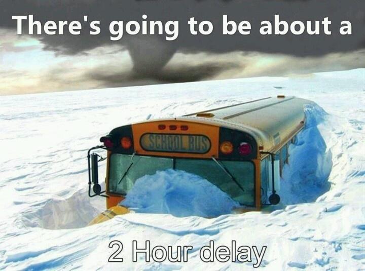 Snow Day Meme Work