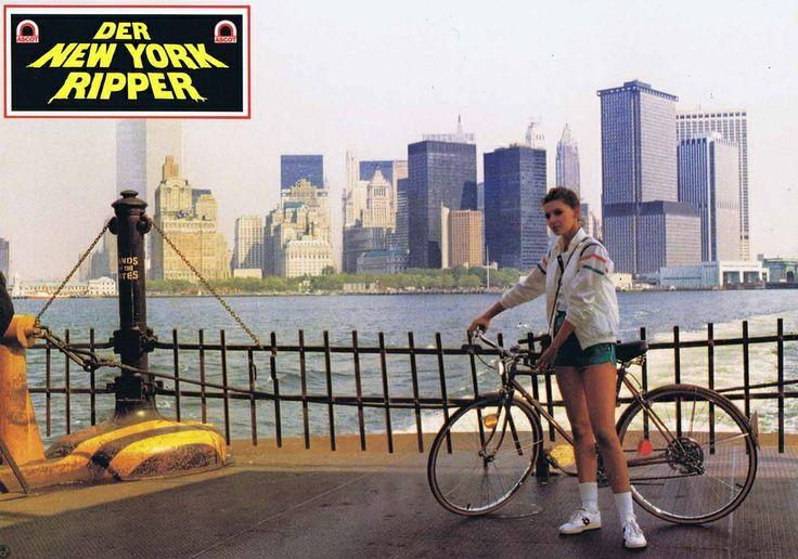 Lo squartatore di New York (The New York Ripper), 1982 - german lobby card