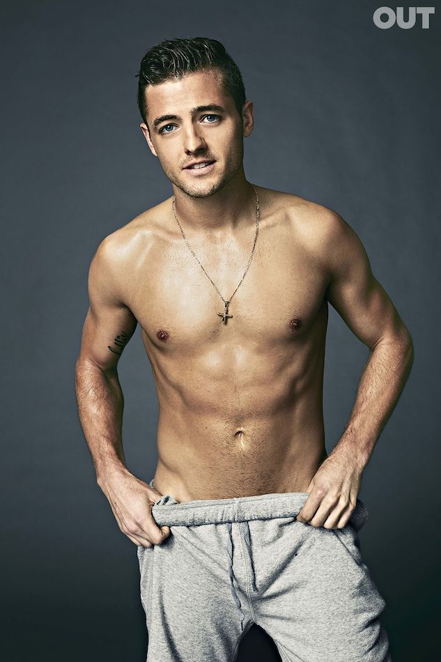 Shirtless Soccer Stud Robbie Rogers Rocks Attitude Cover | Out Magazine