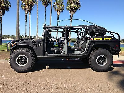 "Hmmwv ""special Ops At-rv"" Duramax Turbo Diesel Allison Hummer H1 Humvee 500hrsp - Used Hummer H1 for sale in San Diego, California 