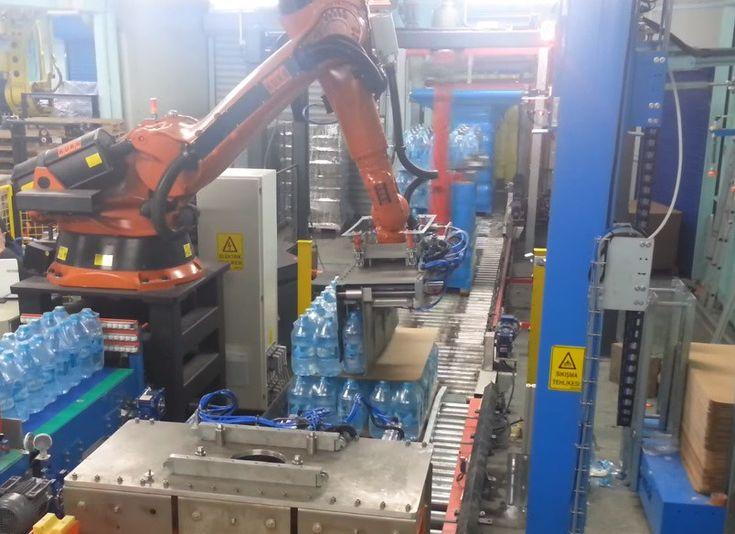Paletleme Robotu Tasarımı